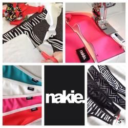Nakie underwear production collage