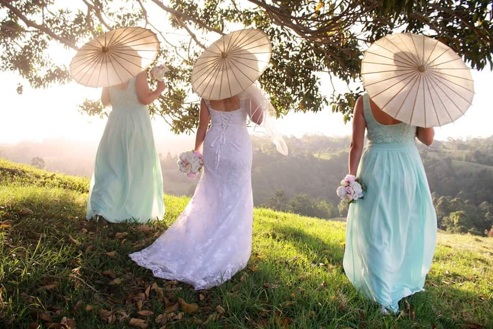 A beautiful shot of the girls up at Maleny.
