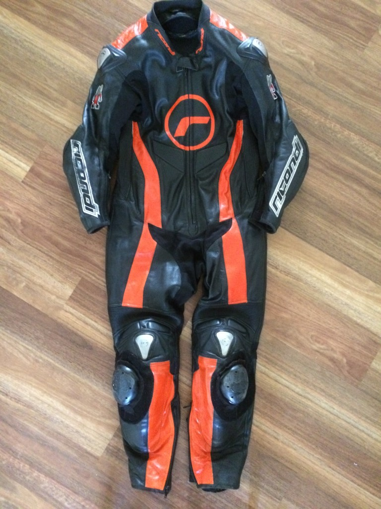 Ricondi race suit makeover, after shot.