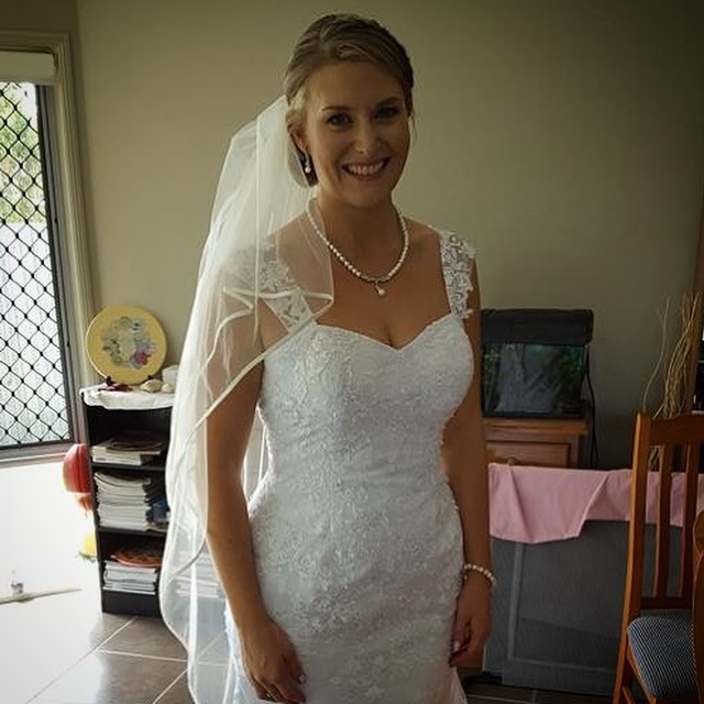 Our beautiful bride ready for the big day.